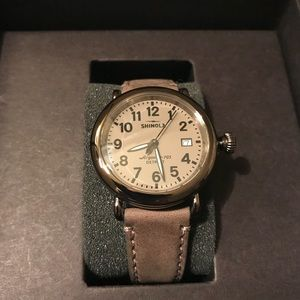 Brand new shinola unisex watch built in Detroit